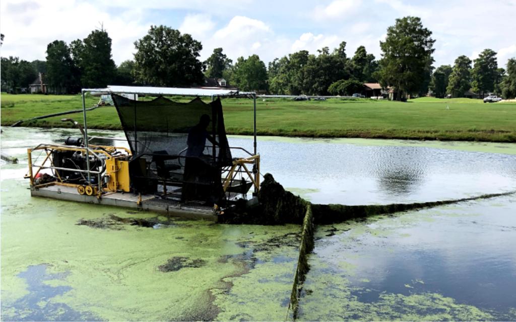 algae control dredge